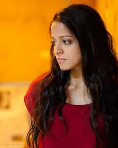 Actress Mouzam Makkar