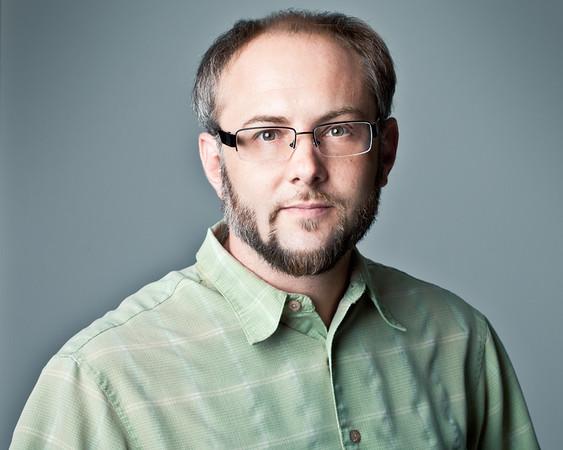 David Schwartz self portrait