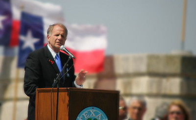 Congressman Ted Poe, former Harris County criminal court judge. Noted Texas historian.   http://poe.house.gov/