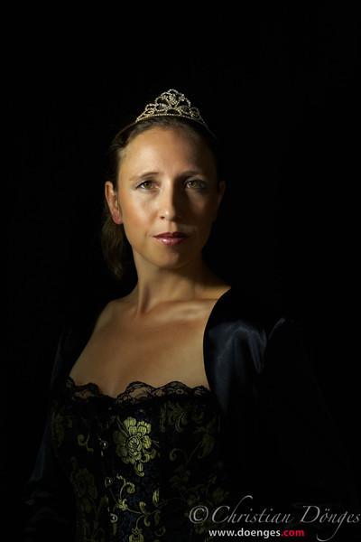 """Königin Anna aus dem Musical """"3 Musketiere""""."""