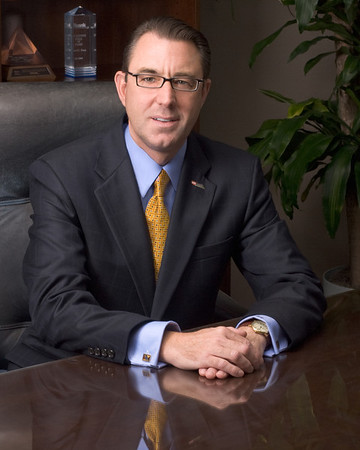 Enviromental Portrait, Kurt Treu, US Bank