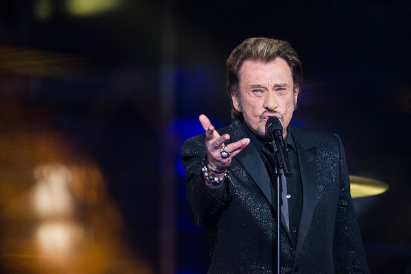 Johnny Hallyday / Singer / Paris, 2014