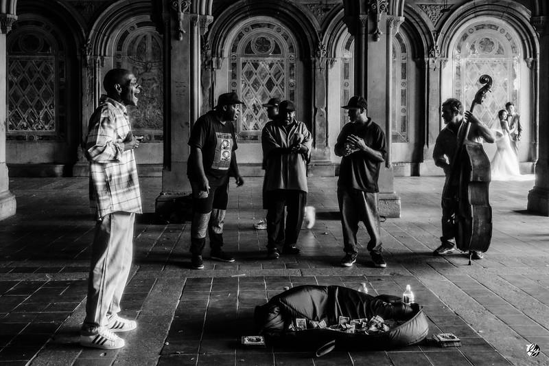 Musicians in Central Park (pt. 2)
