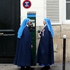 """Your turn to pay for parking, sister""<br /> Paris, France"