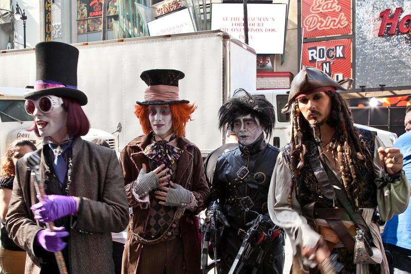 Johnny Depp Look-a-likes
