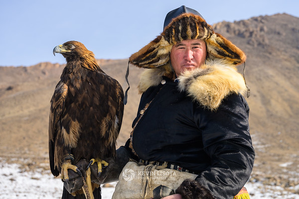 Buybelot and his golden eagle