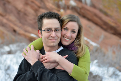 Jason and Joanna's Engagement Session at Red Rocks 2013