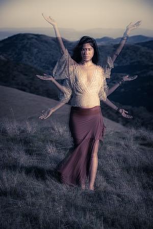 Multi-Armed Goddess