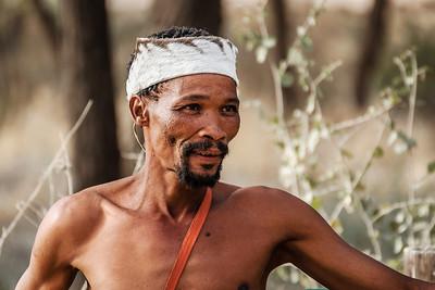 San man, Namibia