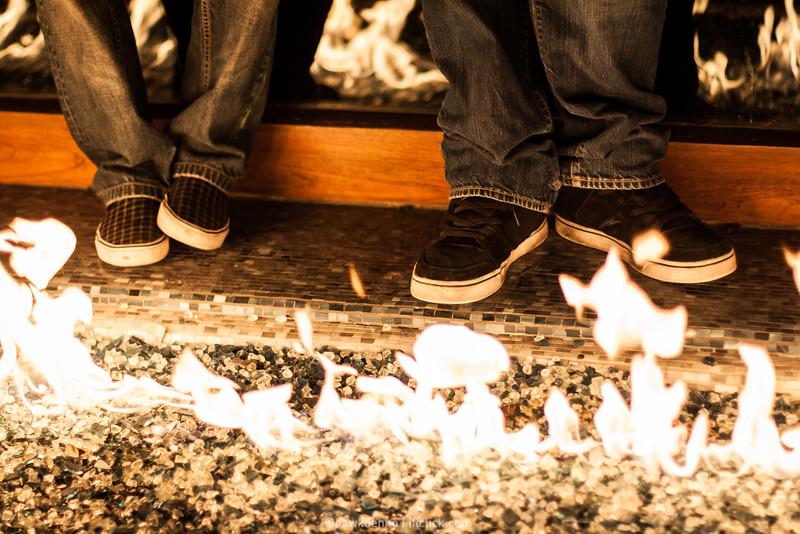 Feet in the Fire