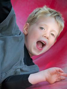 David on slide