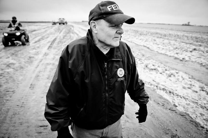 FEMA public information officer Jerry DeFelice, North Dakota 2011