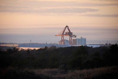 Shipyard Crane - Morehead Port, NC
