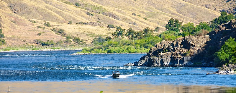 Scenes Along The Snake River