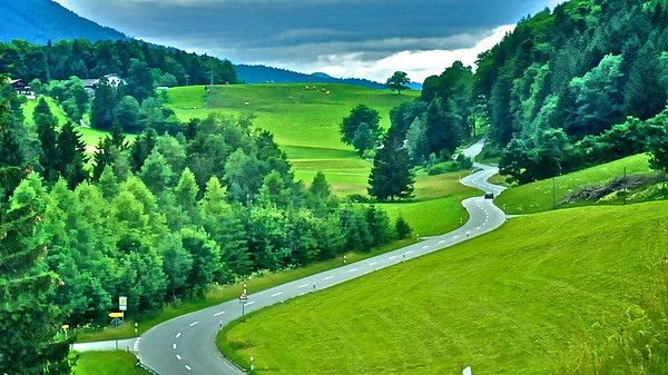 The Long and Winding Road - into the Alps, Germany