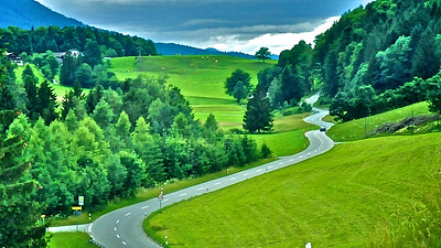 The Long And Winding Road Into The Alps - Germany