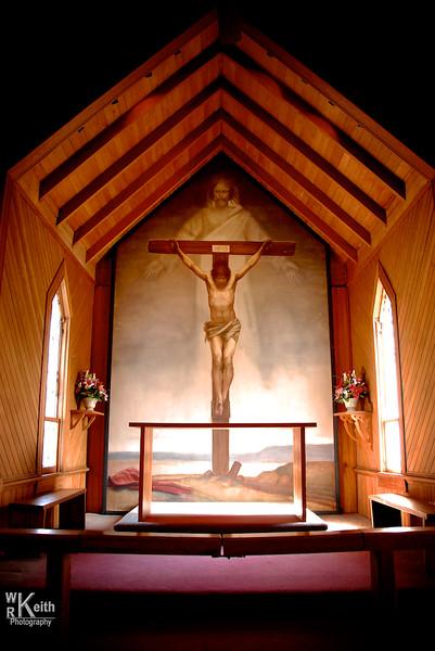 Fresco At St Mary's Episcopal Church - West Jefferson, NC