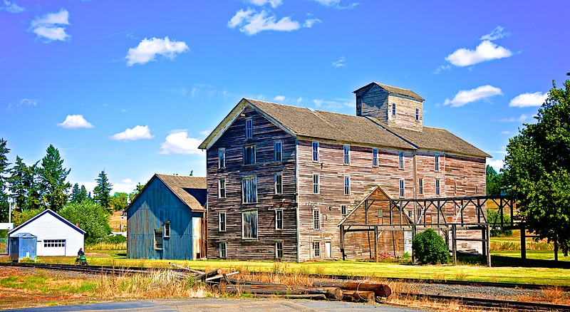 Abandoned Flour Mill - Oakesdale, WA