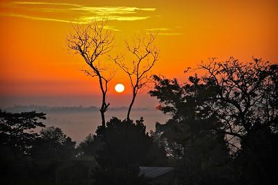 Sunset At Agape Childrens' Village - Bukerere, Uganda