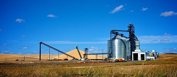 Grain Storage & Distribution - Palouse Scenic Byway, WA