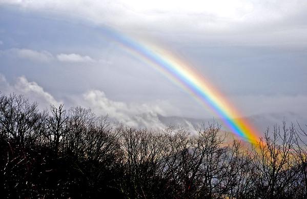 Rainbow Over Foscoe, North Carolina