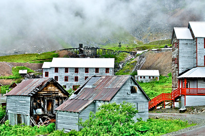 Historic Independence Gold Mine - Hatcher Pass, Alaska
