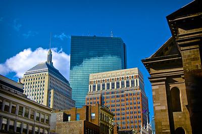 Downtown Buildings, Boston, MA