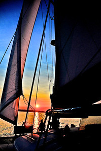 Sunset Sailing on Bellingham Bay - Bellingham, WA
