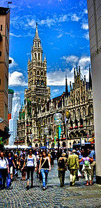 Glockenspiel - Munich, Germany