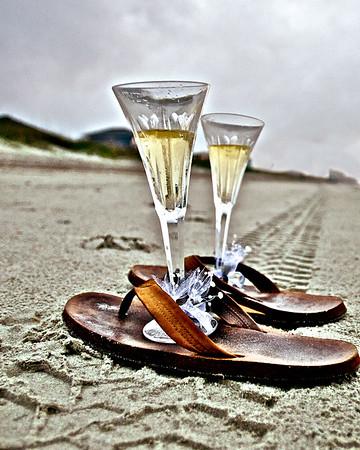 Wedding Toast At The Beach - North Myrtle Beach, SC