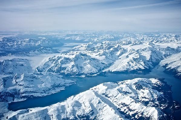Lake & Glacier - Chugach Mountains, Alaska