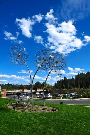 Outdoor Art - Coeur d'Alene, Idaho