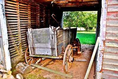 Old Farm Wagon - The Farm, Iredell County, NC