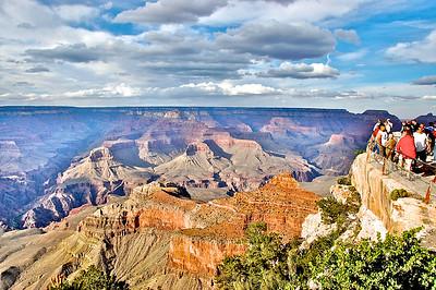 People at the Grand Canyon, Arizona