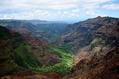 Puu Hinanina Lookout - Kauai