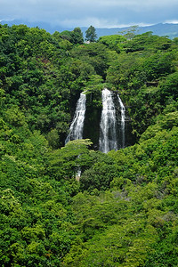 Opaekaa Triple Water Falls - Kauai