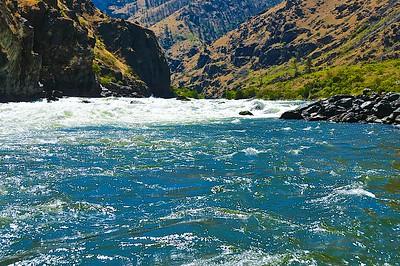 Big Sheep Rapids, Class 4 - Snake River