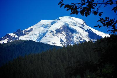 Snow Atop Mt. Baker -  Washington