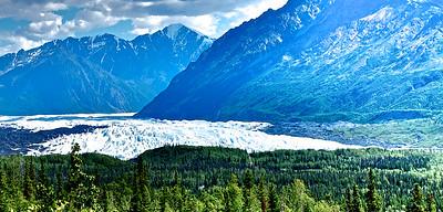 Matanuaska Glacier - Alaska