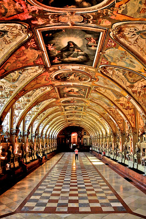 Wall & Ceiling Art - Residenz Museum, Munich, Germany
