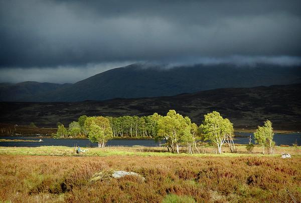 Sun's Spotlight - Rannoch Moor, Scotland