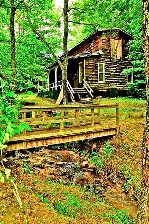 Old Cabin at Healing Spring, NC