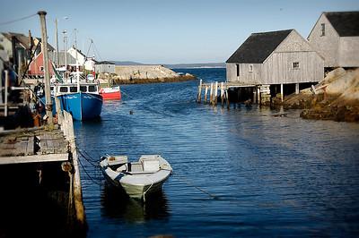 Peggy's Cove Fishing Boat, Nova Scotia