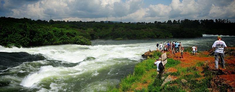 Bujagali Falls on the Nile River - Jinja, Uganda