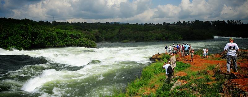 Bujagali Falls on the Nile River - Jinja, Uganda