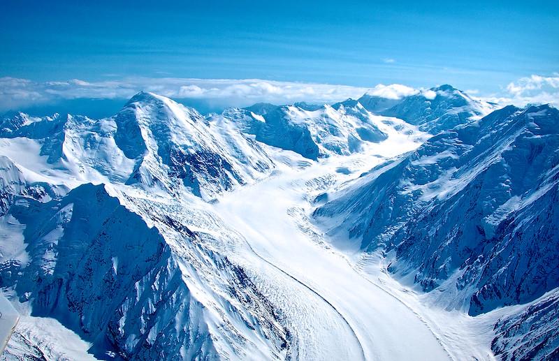Ruth Glacier - Mt. McKinley, Alaska