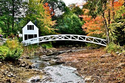 House & White Bridge - Somesville, ME