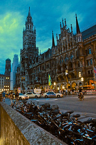 Downtown at Dusk - Munich, Germany