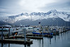Boats In The Harbor at Seward, Alaska