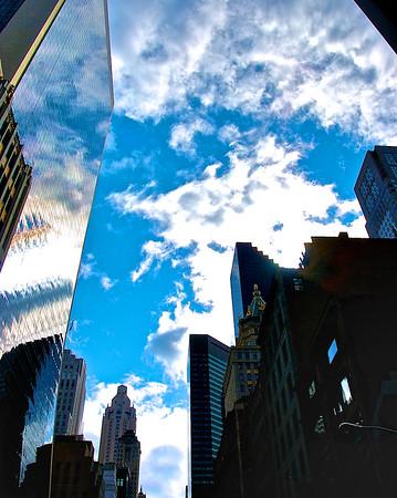 Sky Reflections - New York City, NY